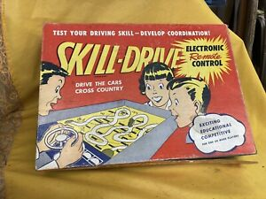 Vintage Skill Drive Electronic Remote Control Game COAST TO COAST A Tarco Toy