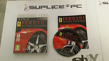 SONY PS3 - JEUX - FERRARI : THE RACE EXPERIENCE