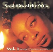 Soul Hits of the 90's, Vol. 1 by Various Artists (CD, Mar-1998, Sony Music Distr