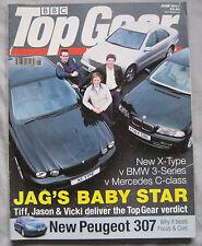 Top Gear 06/2001 featuring BMW M3, Jaguar X-type, BMW, Mercedes, Subaru