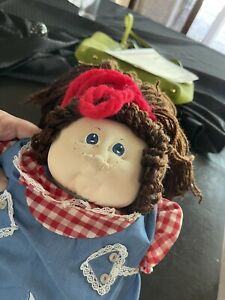 """Xavier Roberts 1980 signed original Little People Soft Sculpture """"Cabbage Patch"""""""
