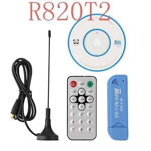 DVB-T+DAB+FM RTL2832U +R820T2 SDR Tuner Receiver Mini Digitaler USB 2.0 TV stick