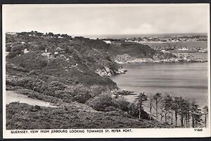 Channel Islands Postcard - Guernsey, View From Jerbourg, St Peter Port  A6642