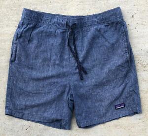 "PATAGONIA Baggies Naturals Unlined Shorts, Men's Medium M, Inseam 6"""