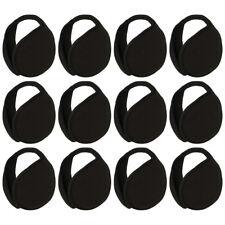 12 Black Fleece Ear Warmer Solid Fleece Men Women Kids Ear Muff