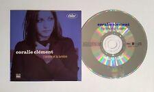 CORALIE CLEMENT L'ombre et la lumière 2-track CD Single Card sleeve