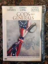 Gods and Generals (DVD, 2003)NEW-AUTHENTIC US Release