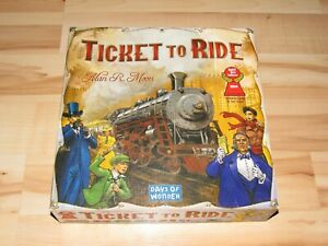 Ticket To Ride Board Game Pieces Still Sealed Complete 2007 Trains