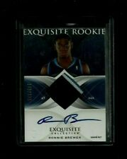 Ronnie Brewer 2006-07 Exquisite Patch ON-CARD Auto Rookie #/225! Utah Jazz SP RC