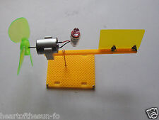 Build your own Micro wind turbine model  educational sceince project  unisex
