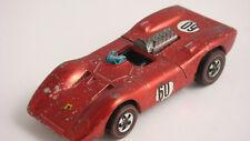 1970 Hot Wheels Redline - FERRARI 312P - HK - Red
