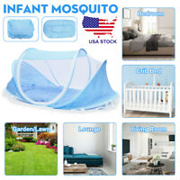 Foldable Infant Baby Mosquito Net Tent Travel Instant Crib Mattress Bed Canopy