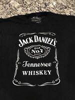 Jack Daniels 2XL Black Graphic T Shirt