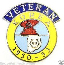 Korea / Korean War Veterans 1950 - 1953 Lapel Pin Badge