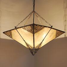 Lámpara Oriental Henna Lámpara de Techo Oriente Henna Carré Rossor Natural
