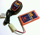 RARE NEW BRIGHT RC 9.6V Rechargeable Battery Car Truck Boat + Quick Charger