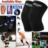 Elastic Sleeve Knee Leg Support For Joint Pain Sprain Injury Sports Running Gym