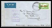 GP GOLDPATH: NEW ZEALAND COVER 1933 AIR MAIL _CV266_P15