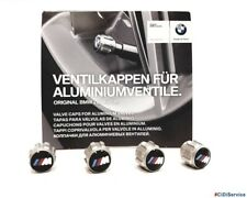 36122447402 Kit 4 Tappi Cappucci Valvole Ruota Logo M Performance originali BMW