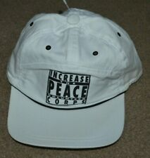 NWT United Colors of Benetton Increase the Peace Volunteer Corps Hat Cap