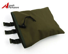 Tactical Military Molle Utility Magazine Mag Ammo Dump Drop Pouch Bag Olive Drab