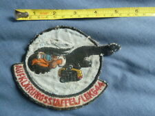 More details for german air force, reconnaissance ?, aufklarungsstaffel / lekg44, cloth patch