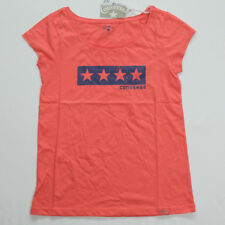 Neu All Star Converse Damen T-Shirt TShirt Shirt Chucks orange Gr.S 18