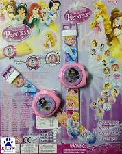 Princess Children Kids Digital Watch PROJECTION Projector 20 images Gift + CHARM