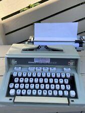 Hermes 3000 Portable Manual Typewriter, Made In France Seafoam Green