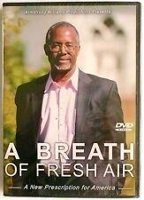 A BREATH OF FRESH AIR DVD A New Prescription for America Dr. Ben Carson >NEW<