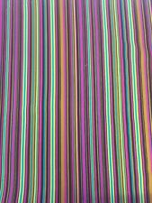 Play Stripe Michael Miller Fabric FQ + More 100% Cotton