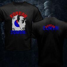 Korean Zombie Chan Tri-Coasta Sung Jung Cartoon Logo UFC MMA Men T-Shirt