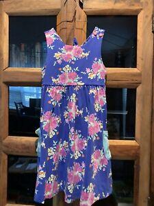 Matilda Jane 6 Blue Flower Dress Excellent