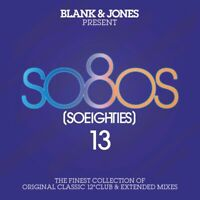 BLANK & JONES - PRESENT SO80S [SO EIGHTIES] 13  2 CD NEU