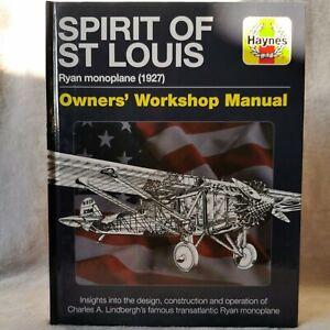 New Haynes Spirit Of St. Louis Ryan Monoplane 1927 Owners' Workshop Plane Flight