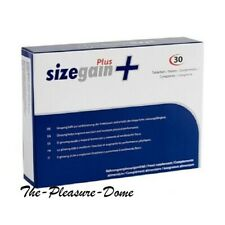SizeGain + Plus 30 Pills Male Enlargement Increase Libido & Stamina 100% Natural