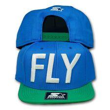 Original Starter Black Label Snapback Cap Fly blau/grün