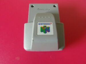 Nintendo 64 Rumble Pak NUS-013 - Genuine & Original N64 Accessory