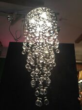 Crystal ball chandeliers ebay crystal ball modern cascading chandelier aloadofball Image collections