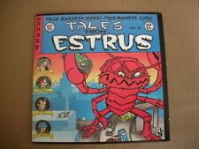 Tales From Estrus - Vol. II (Various Artists) -Red Vinyl 7'' w/Comic Book Sleeve