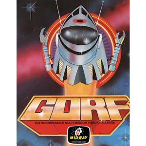 Gorf Free Play and High Score Save Kit Arcade