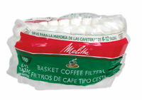 Melitta  12 cups Basket  Coffee Filter  1 pk