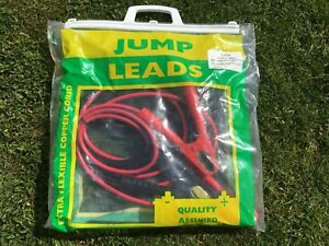3 METRES JUMP LEAD BATTERY BOOSTER CABLES 300 AMP JUMP START QUALITY LEADS BNIB