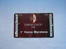 ABBONAMENTO TORINO CALCIO 2000-01