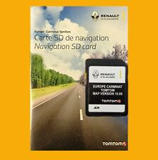 2020 carminat Renault TomTom Carte SD Europe Carte UK Grande-Bretagne Irlande