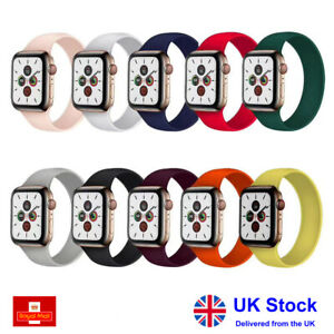 Solo Loop Strap Band for Apple Watch Series 6 5 4 3 2 1 SE Size XS S M L XL XXL