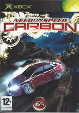 NEED FOR SPEED CARBON for Xbox - with box & manual - PAL