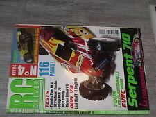 $$ Revue RC Driver International N°4 Serpent 710  Losi Mini T  X Ray M18