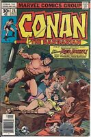 Conan the Barbarian #78   September 1977   Marvel Comics