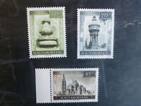 2013 HUNGARY TOURISM VIEWS SET 3 MINT STAMPS MNH
